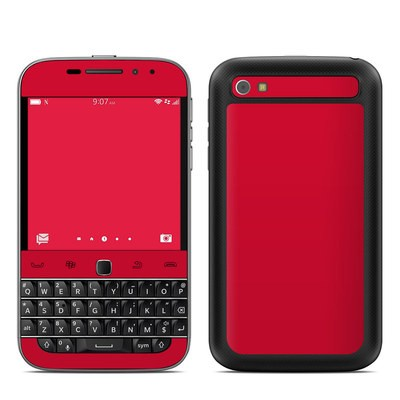 BlackBerry Classic Skin - Solid State Red