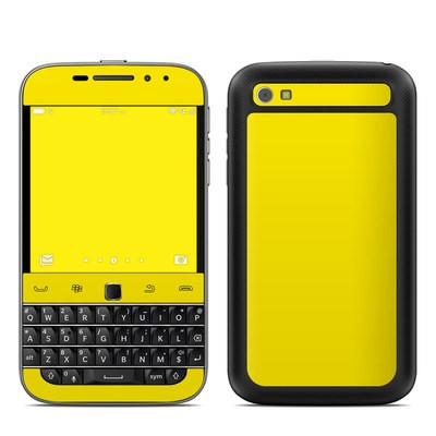 BlackBerry Classic Skin - Solid State Yellow