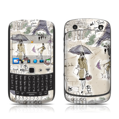 BlackBerry Curve 9300 Series Skin - Ah Paris