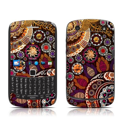 BlackBerry Curve 9300 Series Skin - Autumn Mehndi