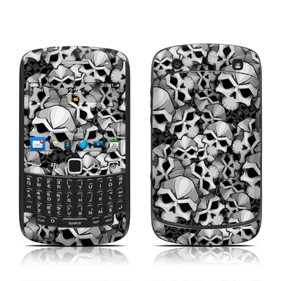 BlackBerry Curve 9300 Series Skin - Bones