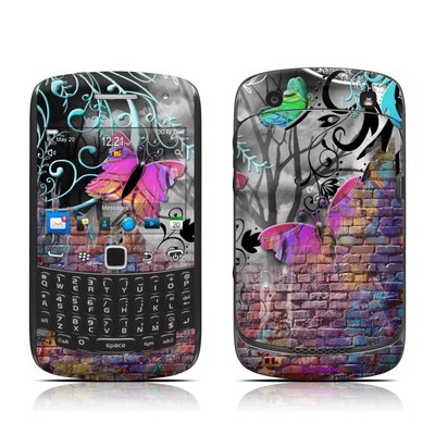 BlackBerry Curve 9300 Series Skin - Butterfly Wall