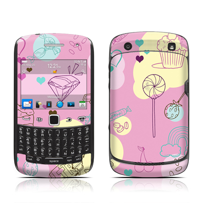BlackBerry Curve 9300 Series Skin - Pink Candy