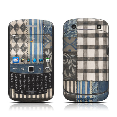 BlackBerry Curve 9300 Series Skin - Country Chic Blue