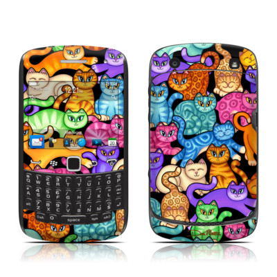 BlackBerry Curve 9300 Series Skin - Colorful Kittens