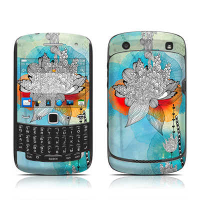 BlackBerry Curve 9300 Series Skin - Coral
