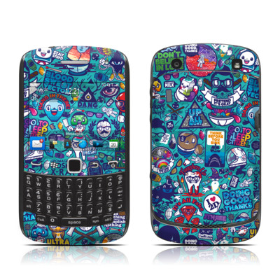 BlackBerry Curve 9300 Series Skin - Cosmic Ray
