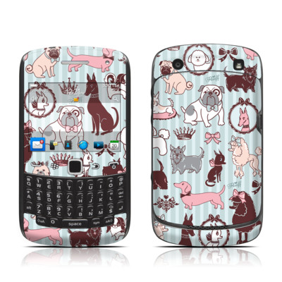 BlackBerry Curve 9300 Series Skin - Doggy Boudoir