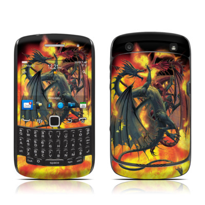 BlackBerry Curve 9300 Series Skin - Dragon Wars