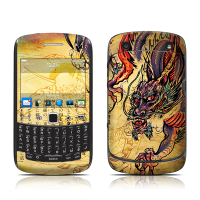 BlackBerry Curve 9300 Series Skin - Dragon Legend