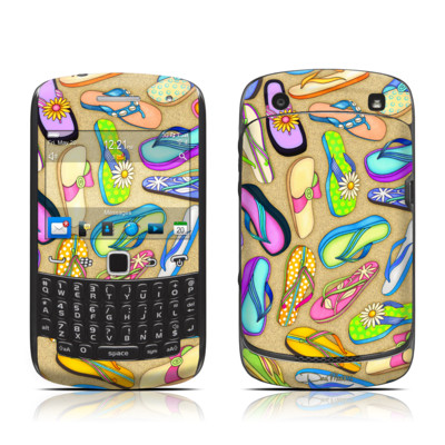 BlackBerry Curve 9300 Series Skin - Flip Flops