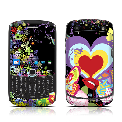 BlackBerry Curve 9300 Series Skin - Flower Cloud