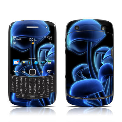 BlackBerry Curve 9300 Series Skin - Fluorescence Blue