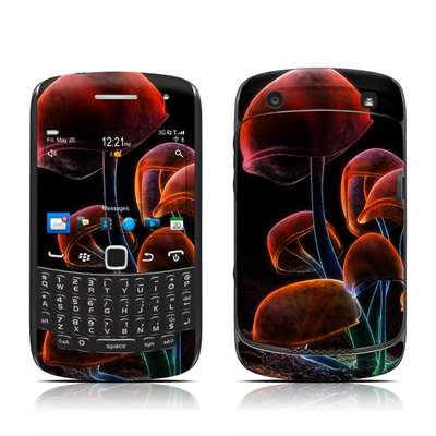 BlackBerry Curve 9300 Series Skin - Fluorescence Rainbow