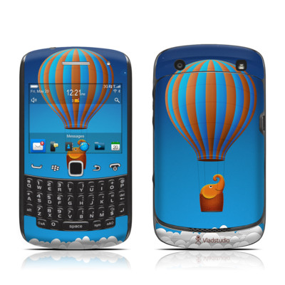 BlackBerry Curve 9300 Series Skin - Flying Elephant