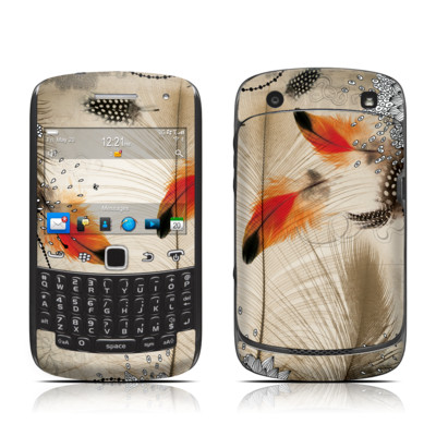 BlackBerry Curve 9300 Series Skin - Feather Dance
