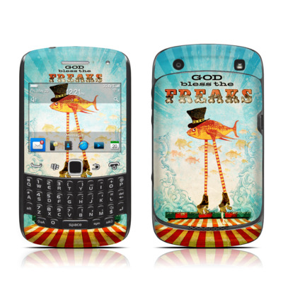 BlackBerry Curve 9300 Series Skin - God Bless The Freaks