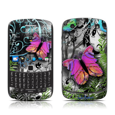 BlackBerry Curve 9300 Series Skin - Goth Forest