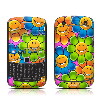 BlackBerry Curve 9300 Series Skin - Happy Daisies
