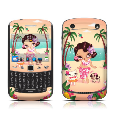 BlackBerry Curve 9300 Series Skin - Hula Lulu