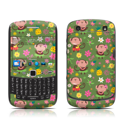 BlackBerry Curve 9300 Series Skin - Hula Monkeys