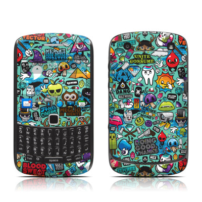 BlackBerry Curve 9300 Series Skin - Jewel Thief
