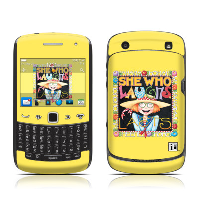BlackBerry Curve 9300 Series Skin - She Who Laughs