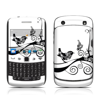 BlackBerry Curve 9300 Series Skin - Little Curly