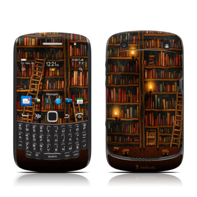 BlackBerry Curve 9300 Series Skin - Library