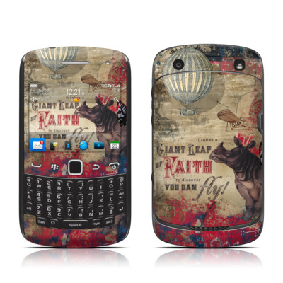 BlackBerry Curve 9300 Series Skin - Leap Of Faith