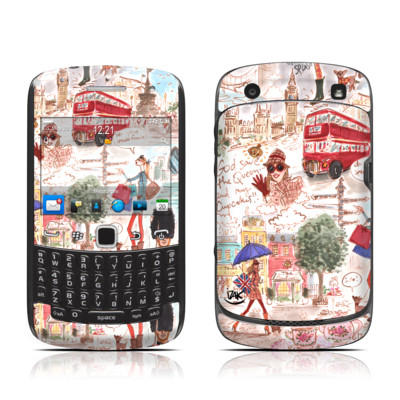 BlackBerry Curve 9300 Series Skin - London