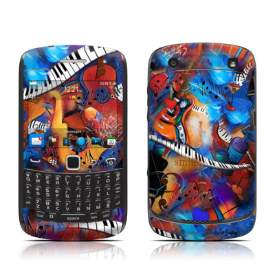BlackBerry Curve 9300 Series Skin - Music Madness