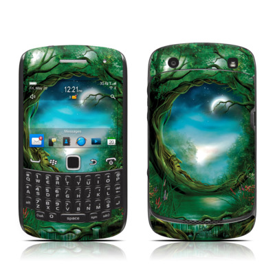 BlackBerry Curve 9300 Series Skin - Moon Tree