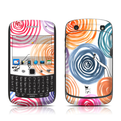 BlackBerry Curve 9300 Series Skin - New Circle
