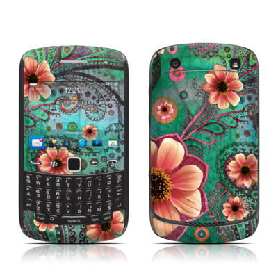 BlackBerry Curve 9300 Series Skin - Paisley Paradise