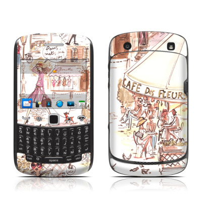 BlackBerry Curve 9300 Series Skin - Paris Makes Me Happy