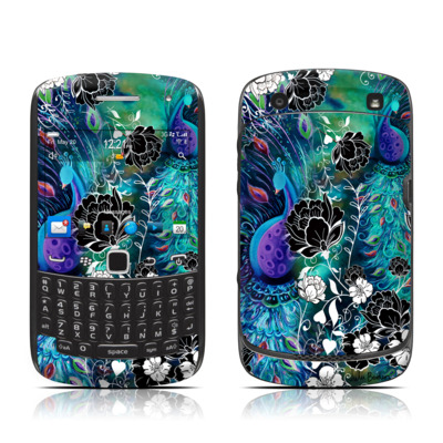 BlackBerry Curve 9300 Series Skin - Peacock Garden