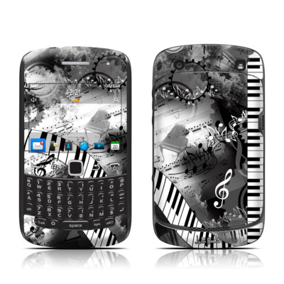 BlackBerry Curve 9300 Series Skin - Piano Pizazz