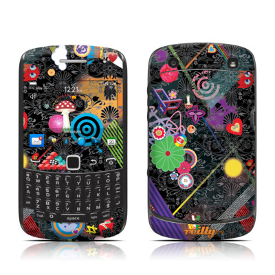 BlackBerry Curve 9300 Series Skin - Play Time