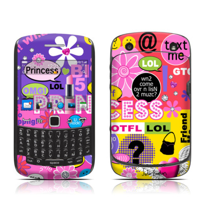 BlackBerry Curve 9300 Series Skin - Princess Text Me