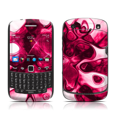BlackBerry Curve 9300 Series Skin - Pink Splatter