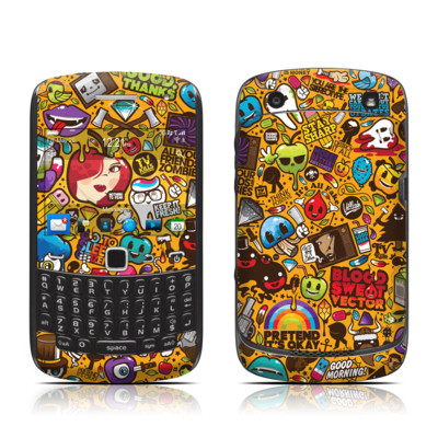 BlackBerry Curve 9300 Series Skin - Psychedelic