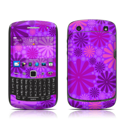 BlackBerry Curve 9300 Series Skin - Purple Punch