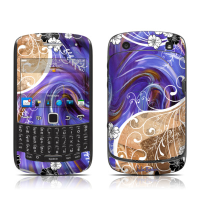 BlackBerry Curve 9300 Series Skin - Purple Waves