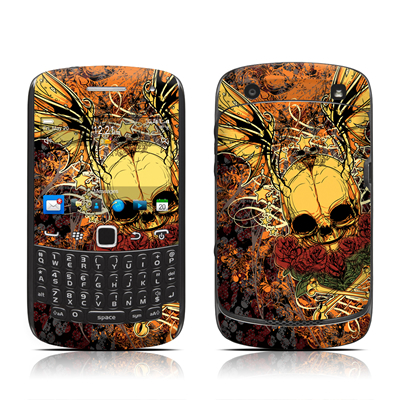 BlackBerry Curve 9300 Series Skin - Radiant Skull