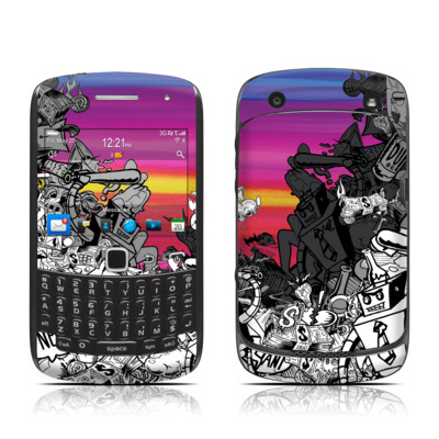 BlackBerry Curve 9300 Series Skin - Robo Fight