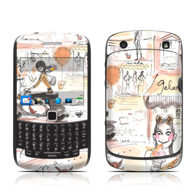 BlackBerry Curve 9300 Series Skin - Rome Scene