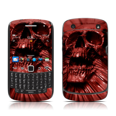 BlackBerry Curve 9300 Series Skin - Skull Blood