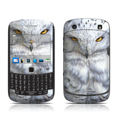 BlackBerry Curve 9300 Series Skin - Snowy Owl