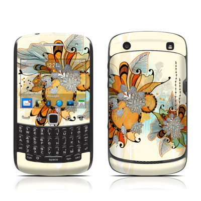 BlackBerry Curve 9300 Series Skin - Sunset Flowers
